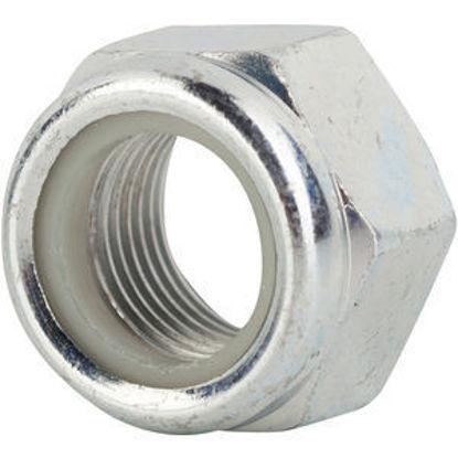 M5 Nylon Insert Steel Zinc Nut For Ice Racing